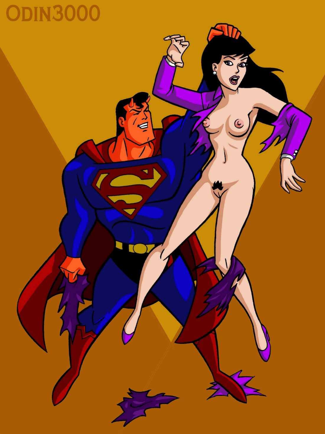 superboy and young superman justice Brandy and mr whiskers xxx