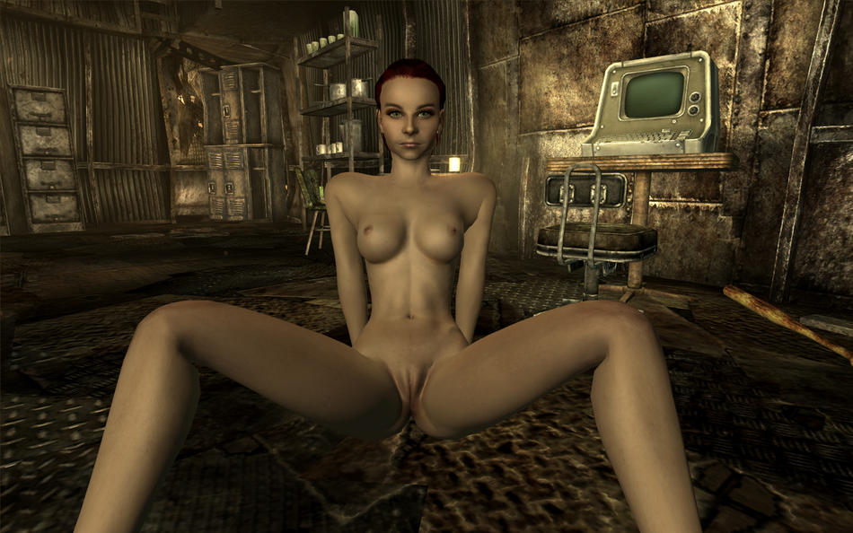 mod glorious female nude 4 fallout Monster girl quest goddess ilias
