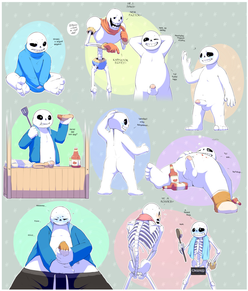 x frisk sans x papyrus My lonely never-ending game of hide and seek