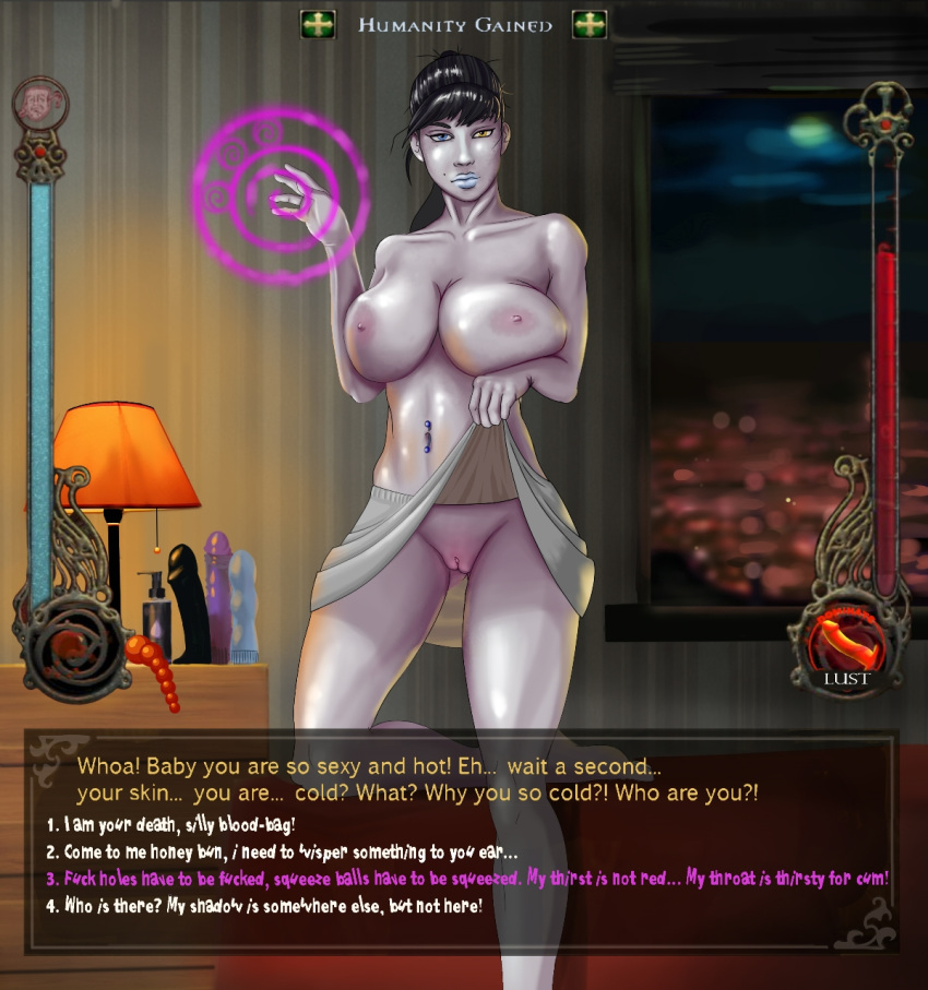 save and masquerade the bloodlines therese jeanette vampire Anime girl tied up and gagged